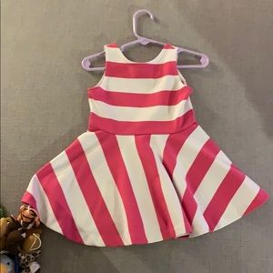 Ralph Lauren Pink and White Dress Size 2-2T